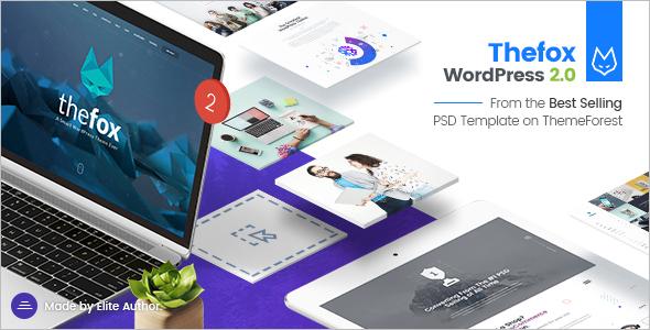 Business Blog WordPress Template