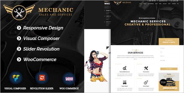 Business Car Services WordPress Template