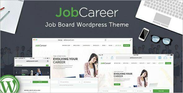 Carrer WordPress Platform template