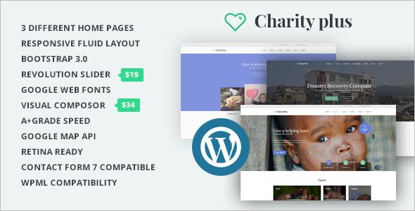 Charity WordPress PlatForm Template