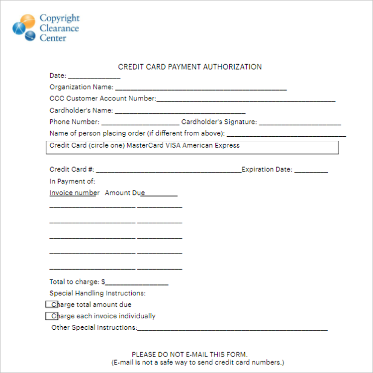 Child Tax Credit Application Form Template