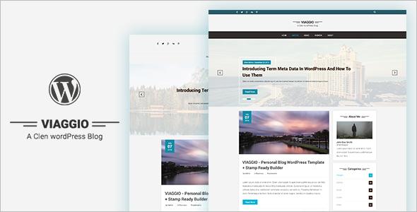 Classic WordPress Blog Template
