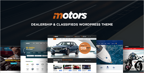 Classifed Motors WordPress Template