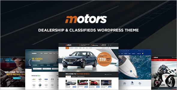 Classifed Motors WordPress Template