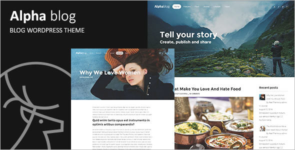 Clean WordPress Blog Template