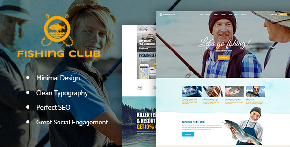 Club WordPress Platform template