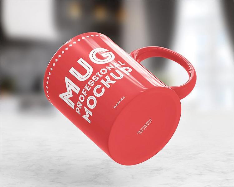 Coffe Mug Logo Mock-up