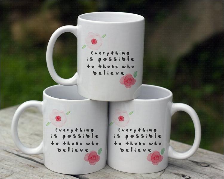 Coffe Mug Mock-up Design