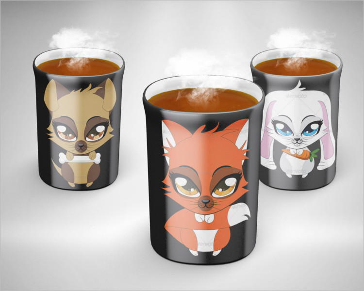 Coffe Mug Mock-up Pack