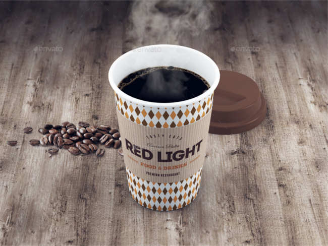 Coffee Cup Mockup Background