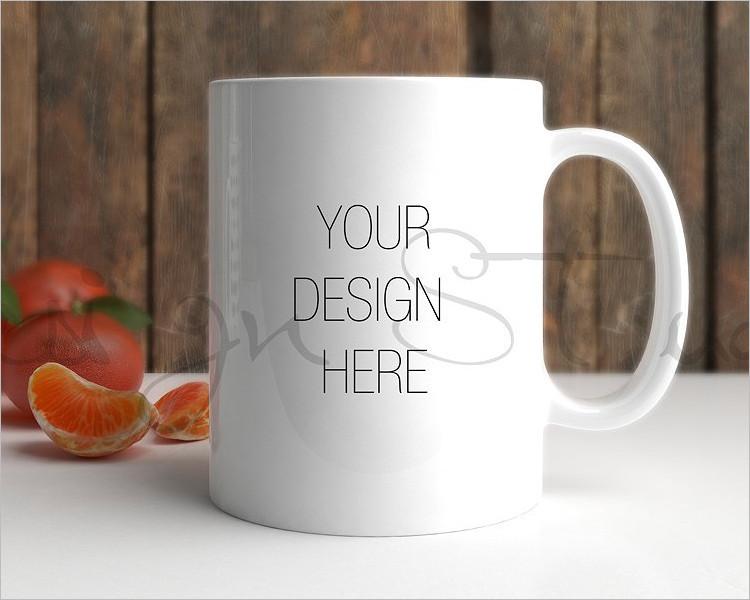 Coffee Mug Photography Mock-up