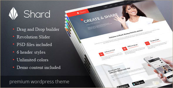 Corporate Animated WordPress Template
