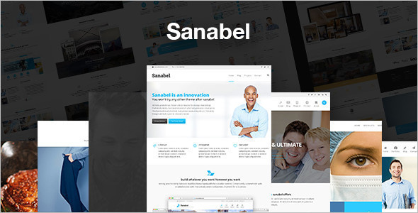 Corporate Hospital WordPress Template
