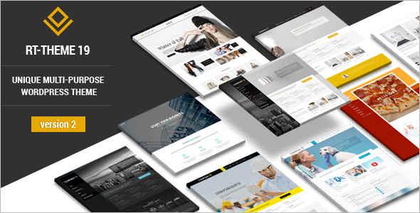 Corporate WordPress Template