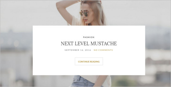 Crafted Blog WordPress Template