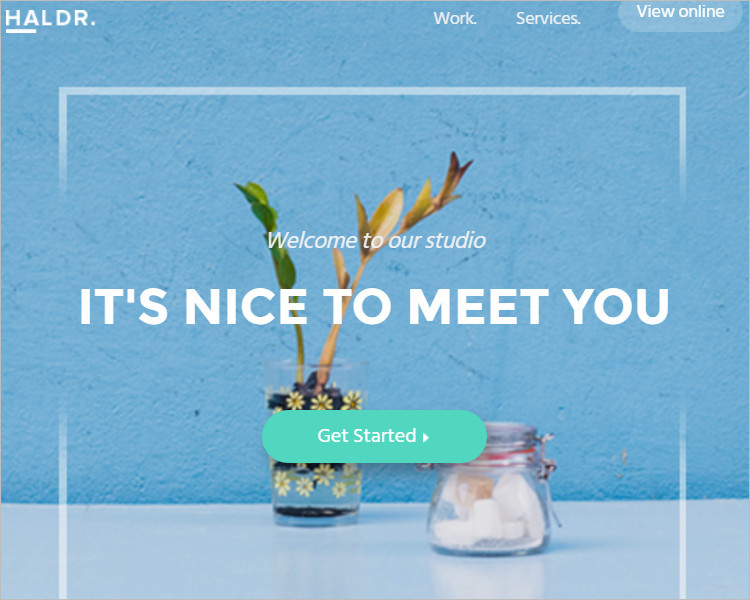 Creative HTML Email Template