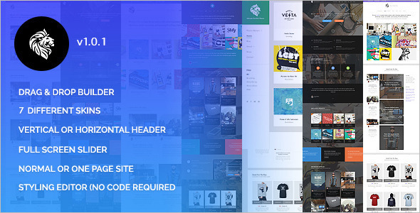 Creative Portfolio WordPres Template
