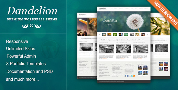 Creative WordPress Template
