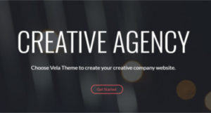 Creative agency Wordpress template