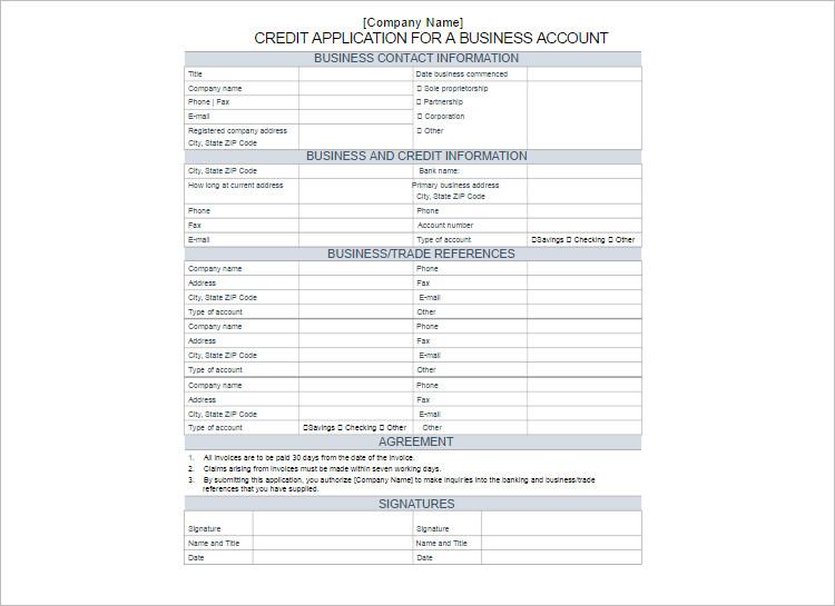 Customize Creditr Application Form Templates