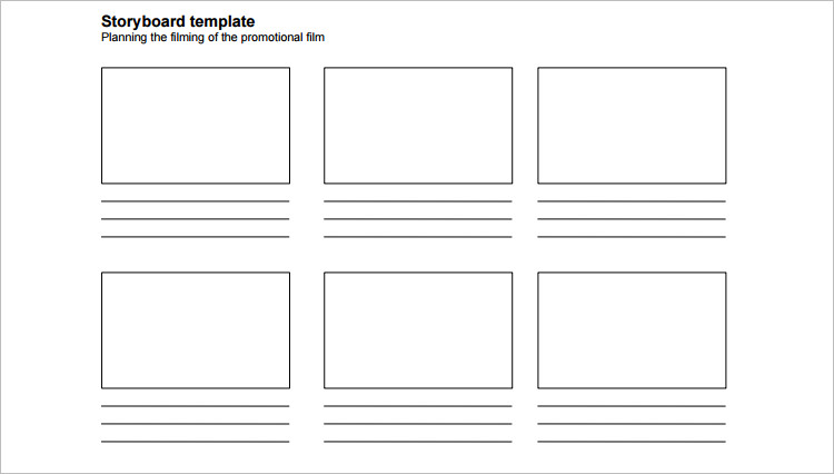 Customize Story Board Template Form