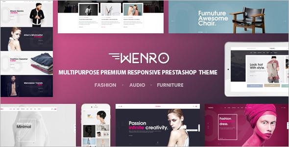 Digital Fashion HomePage Template