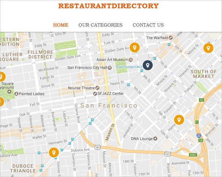 Dinning Restaurant WordPress Template