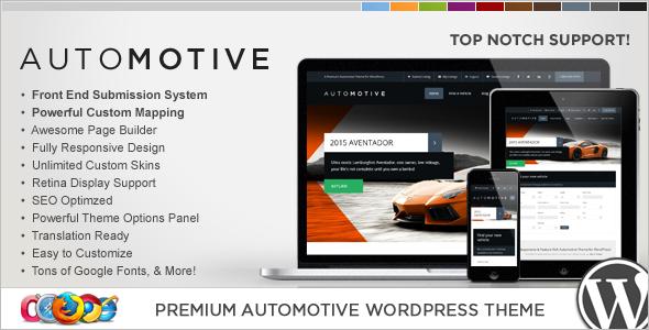 Directory & Listings WordPress Template