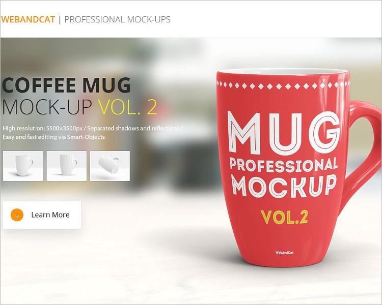 Dodownload Coffe Mug Mock-up