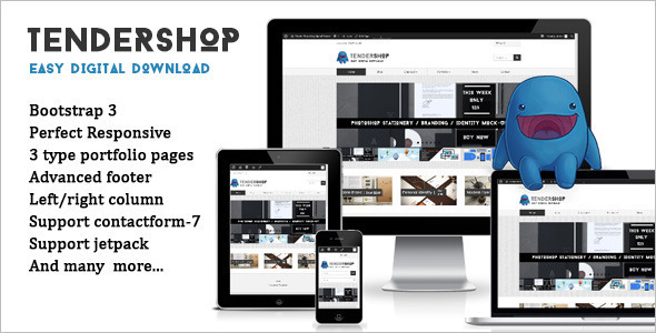 Doownload Marketing WordPress template