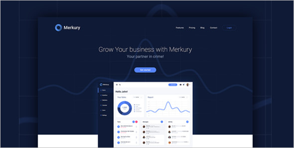 Download Business Web layout Template