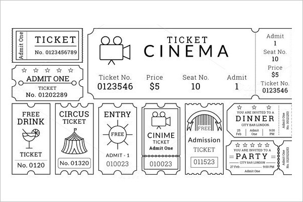 Download Movie Ticket Template