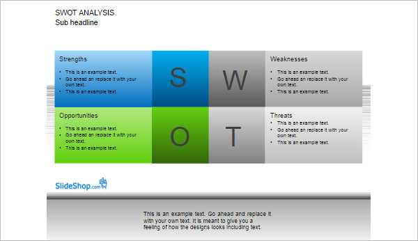 Download Swot Analysis Word Template
