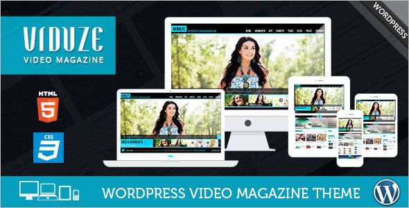 Download Video WordPress Template