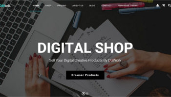 Download wordPress template