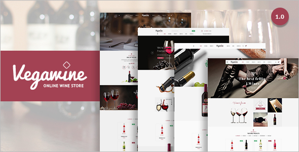 E-Commerce WordPress Platform template