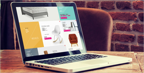 E-commerce Web Layout Template