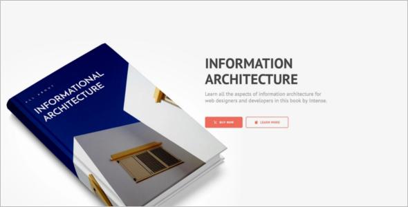 Ebook Architechure landing Page Template