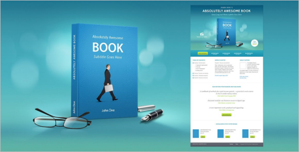 Ebook Product Landing Page Template