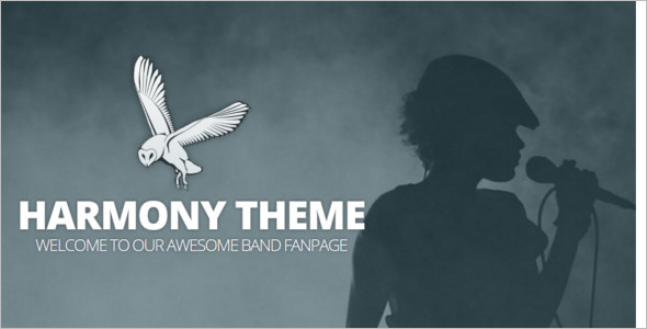 Elagant Band WordPress Template