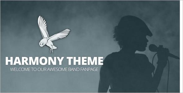Elagant Band WordPress Template