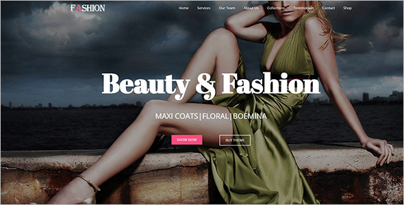 Elegant Beauty WordPress Template