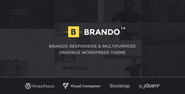 Elegant Brand WordPress Template