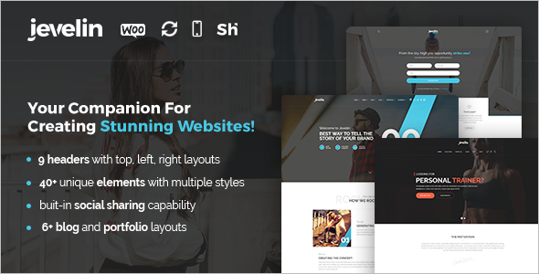 Elegant Company WordPress Template