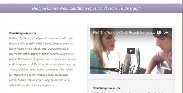 Elegant Convertible WordPress Template