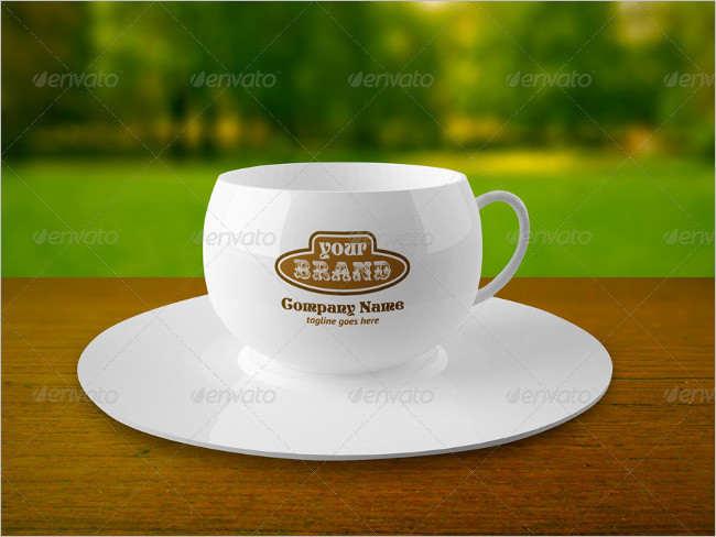 Elegant PSD Coffe Cup Mockup
