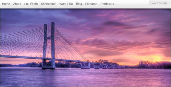Elegant Photography WordPress Theme