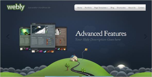 Elegant Video Blog WordPress Template