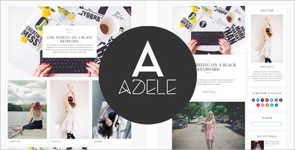 Elegant WordPress Blog Template