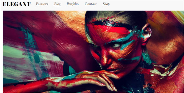 ElegantGraphic WordPress Template